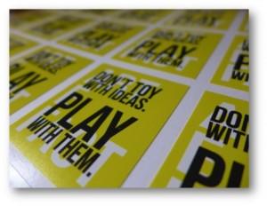 Creatividad - Game Thinking, jugar para idear